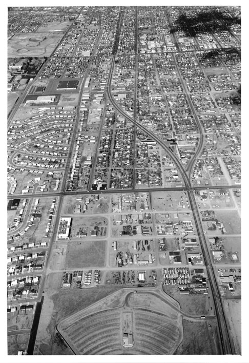 Platte Ave. as seen in the early 1960s